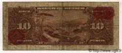 10 Pesos MEXIQUE  1954 P.058a B+
