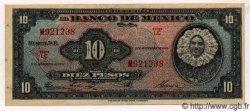 10 Pesos MEXIQUE  1961 P.716i SUP