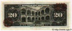 20 Pesos MEXIQUE  1953 P.717Cb SPL