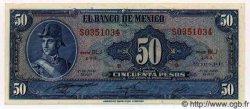 50 Pesos MEXIQUE  1972 P.718At NEUF
