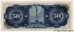50 Pesos MEXIQUE  1972 P.718Au SUP