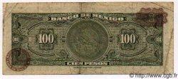 100 Pesos MEXIQUE  1972 P.719Bh TB