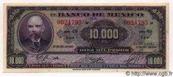 10000 Pesos MEXIQUE  1950 P.722b pr.NEUF