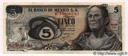 5 Pesos MEXIQUE  1969 P.723a SUP+