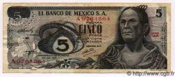 5 Pesos MEXIQUE  1971 P.723b TTB