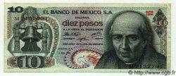 10 Pesos MEXIQUE  1971 P.724d TTB