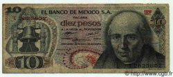 10 Pesos MEXIQUE  1972 P.724e TB