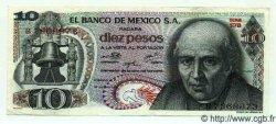 10 Pesos MEXIQUE  1974 P.724g SUP+