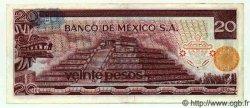 20 Pesos MEXIQUE  1972 P.725a SPL