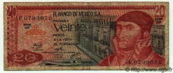 20 Pesos MEXIQUE  1976 P.725c TB