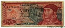 20 Pesos MEXIQUE  1977 P.725d TB+