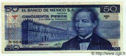 50 Pesos MEXIQUE  1973 P.726a TTB+