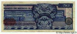 50 Pesos MEXIQUE  1978 P.726Aa TTB+