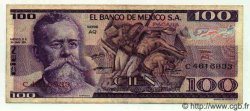 100 Pesos MEXIQUE  1974 P.727 TTB