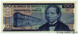 50 Pesos MEXIQUE  1981 P.731 NEUF