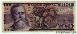 100 Pesos MEXIQUE  1981 P.732b TTB