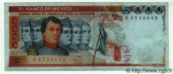 5000 Pesos MEXIQUE  1981 P.735a TTB+