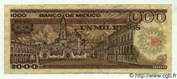 1000 Pesos MEXIQUE  1984 P.739b TTB