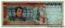 5000 Pesos MEXIQUE  1983 P.741 TB+