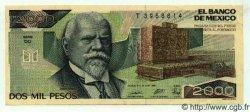 2000 Pesos MEXIQUE  1989 P.086c SPL