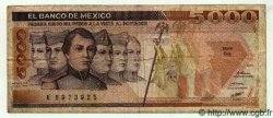 5000 Pesos MEXIQUE  1985 P.746a TB+
