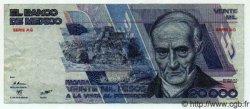 20000 Pesos MEXIQUE  1987 P.749 TTB