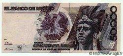 50000 Pesos MEXIQUE  1989 P.751b SUP