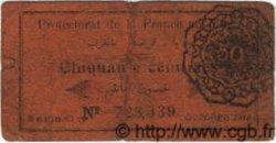 50 Centimes MAROC  1919 P.05c B