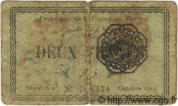 2 Francs MAROC  1919 P.07a B+
