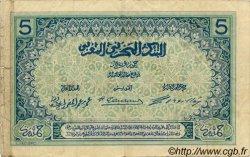 5 Francs MAROC  1921 P.08 TB