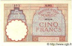5 Francs MAROC  1941 P.10b pr.NEUF