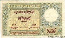 50 Francs MAROC  1925 P.13 TTB+