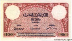 100 Francs MAROC  1921 P.14s pr.NEUF
