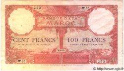 100 Francs MAROC  1921 P.14 TB+ à TTB