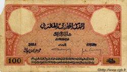 100 Francs MAROC  1926 P.14 B+
