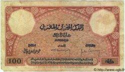 100 Francs MAROC  1926 P.14 B