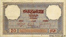 20 Francs MAROC  1931 P.18a TTB