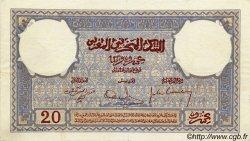 20 Francs MAROC  1931 P.18a SUP