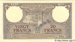 20 Francs MAROC  1931 P.18a pr.NEUF