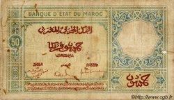 50 Francs MAROC  1932 P.19 B