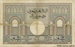 50 Francs MAROC  1936 P.21 pr.TB