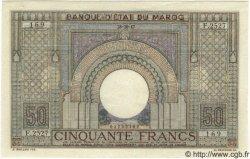 50 Francs MAROC  1947 P.21 SPL+