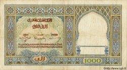 1000 Francs MAROC  1948 P.22c B à TB