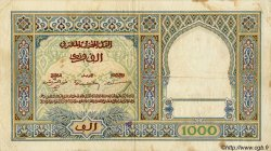 1000 Francs MAROC  1949 P.22c TB à TTB
