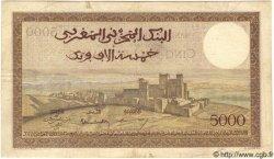 5000 Francs MAROC  1951 P.23c TTB