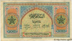 100 Francs MAROC  1943 P.25 TTB+