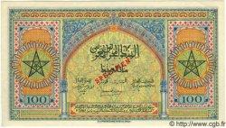 100 Francs MAROC  1944 P.25s NEUF
