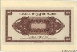 1000 Francs MAROC  1943 P.26 NEUF