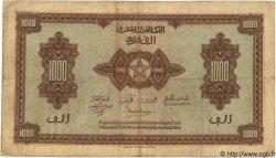 1000 Francs MAROC  1944 P.26 TB