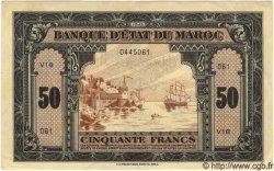 50 Francs MAROC  1943 P.26 TTB+